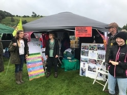 Questions posed on climate change at Llanfyllin Show