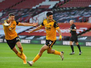 Raul Jimenez of Wolverhampton Wanderers celebrates (AMA)
