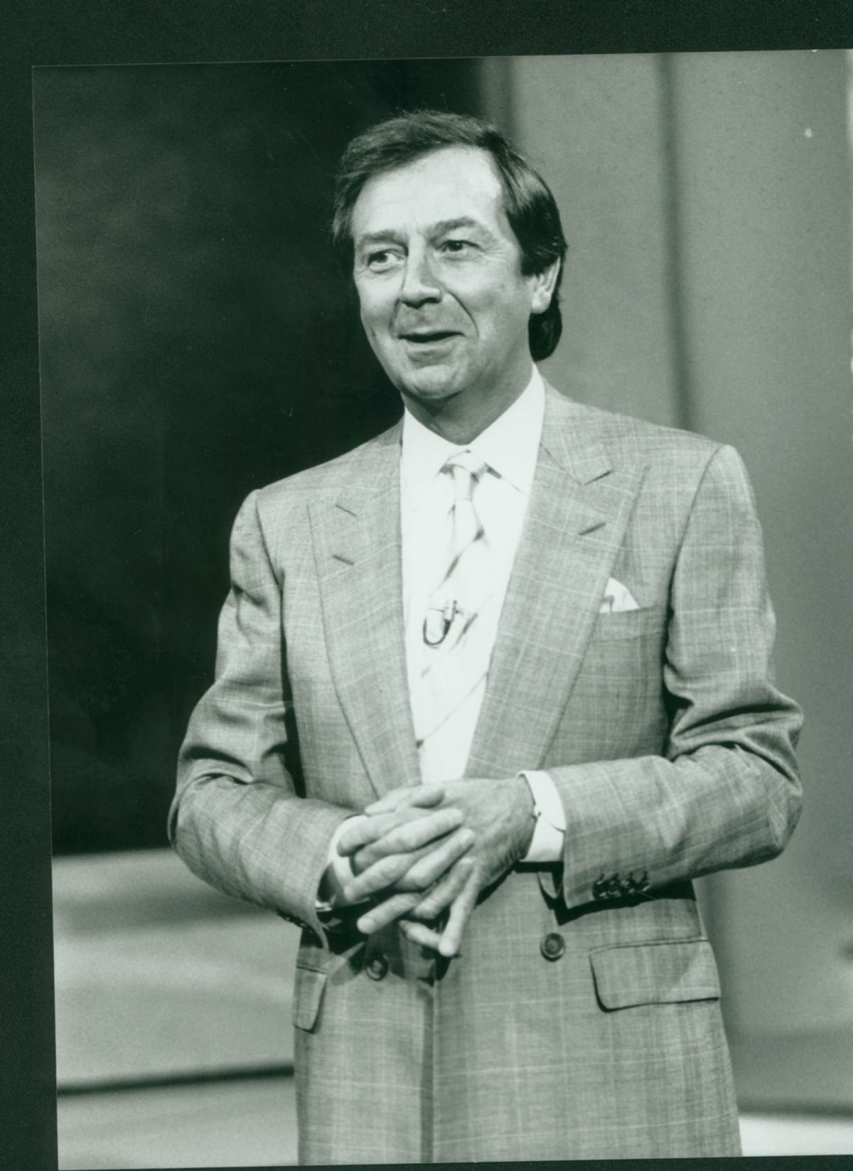 Des O'Connor is best known for his chat shows