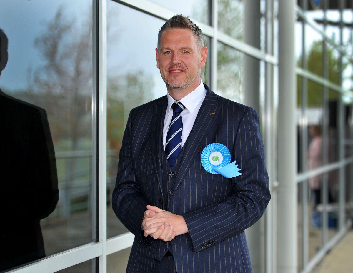 Re-elected West Mercia Police & Crime Commissioner, John Campion