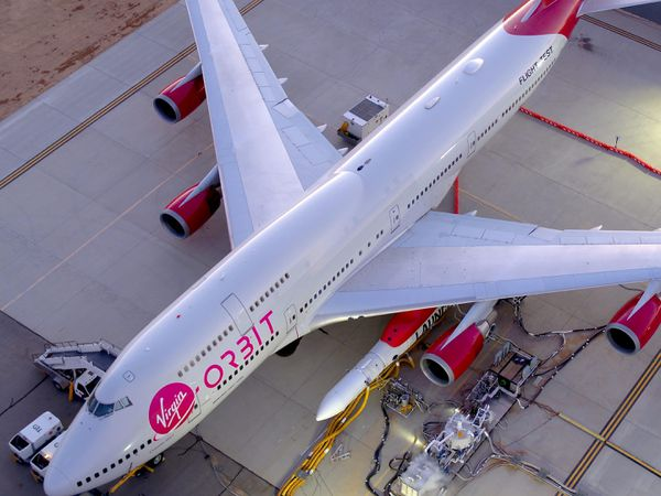 Sir Richard Branson's Virgin Orbit reaches space at second attempt