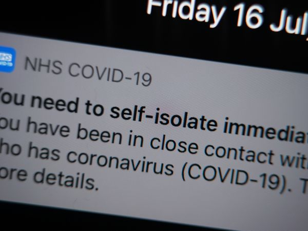 Around 5,000 people in the county have been asked to isolate according to figures