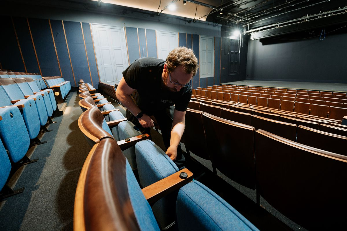 First look inside of the newly renovated Ludlow Assembly Rooms