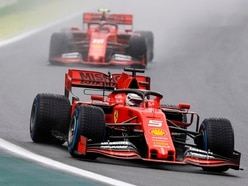 Hamilton only fifth fastest as Ferrari set pace in Brazil