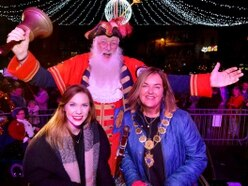 Christmas comes early to Shrewsbury as crowds flock to big lights switch-on - with pictures and video