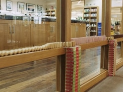 Yorkshire Tea made a domino run out of biscuits and it's absolutely epic
