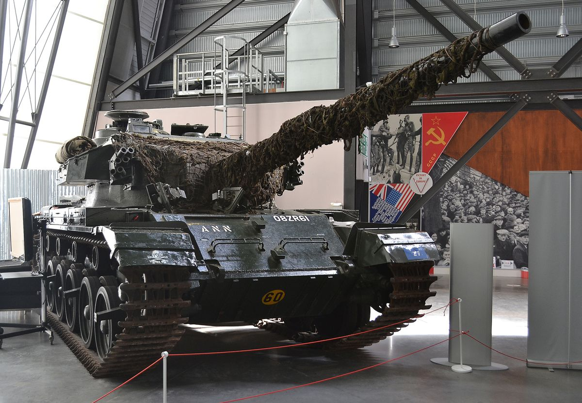 This Centurion is on display at the National Cold War Exhibition, part of the RAF Museum at Cosford.