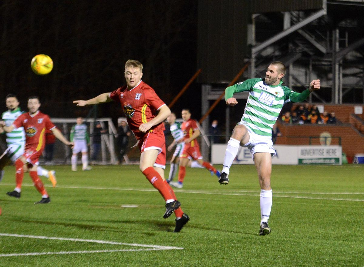 Record goalscorer Greg Draper has been released from his playing contract but has taken on a coaching role at Park Hall