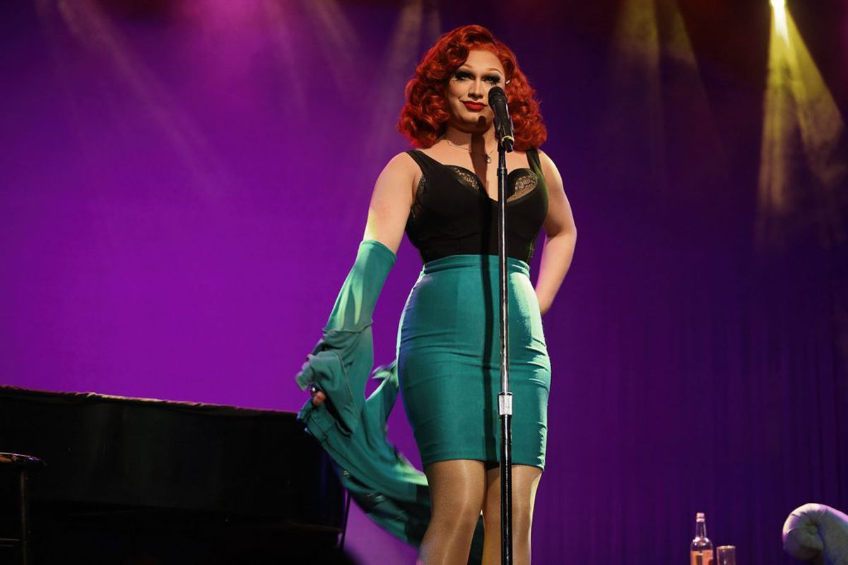 Jinkx Monsoon and Major Scales in The Ginger Snapped. Photo from: https://www.birminghamhippodrome.com/