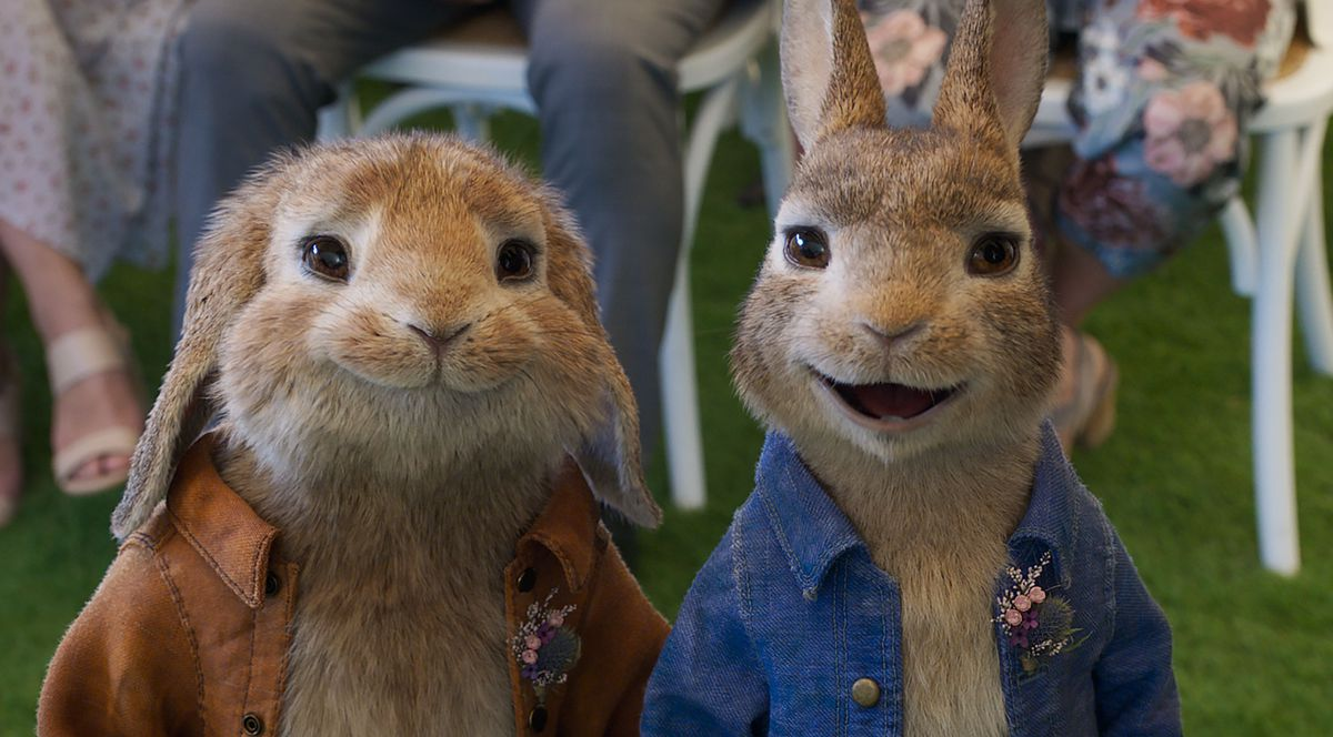 Peter Rabbit will be showing at the venue