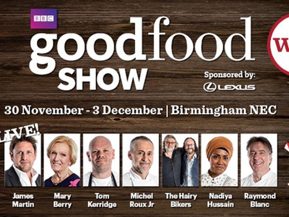 WIN: Tickets to BBC Good Food Show in Birmingham