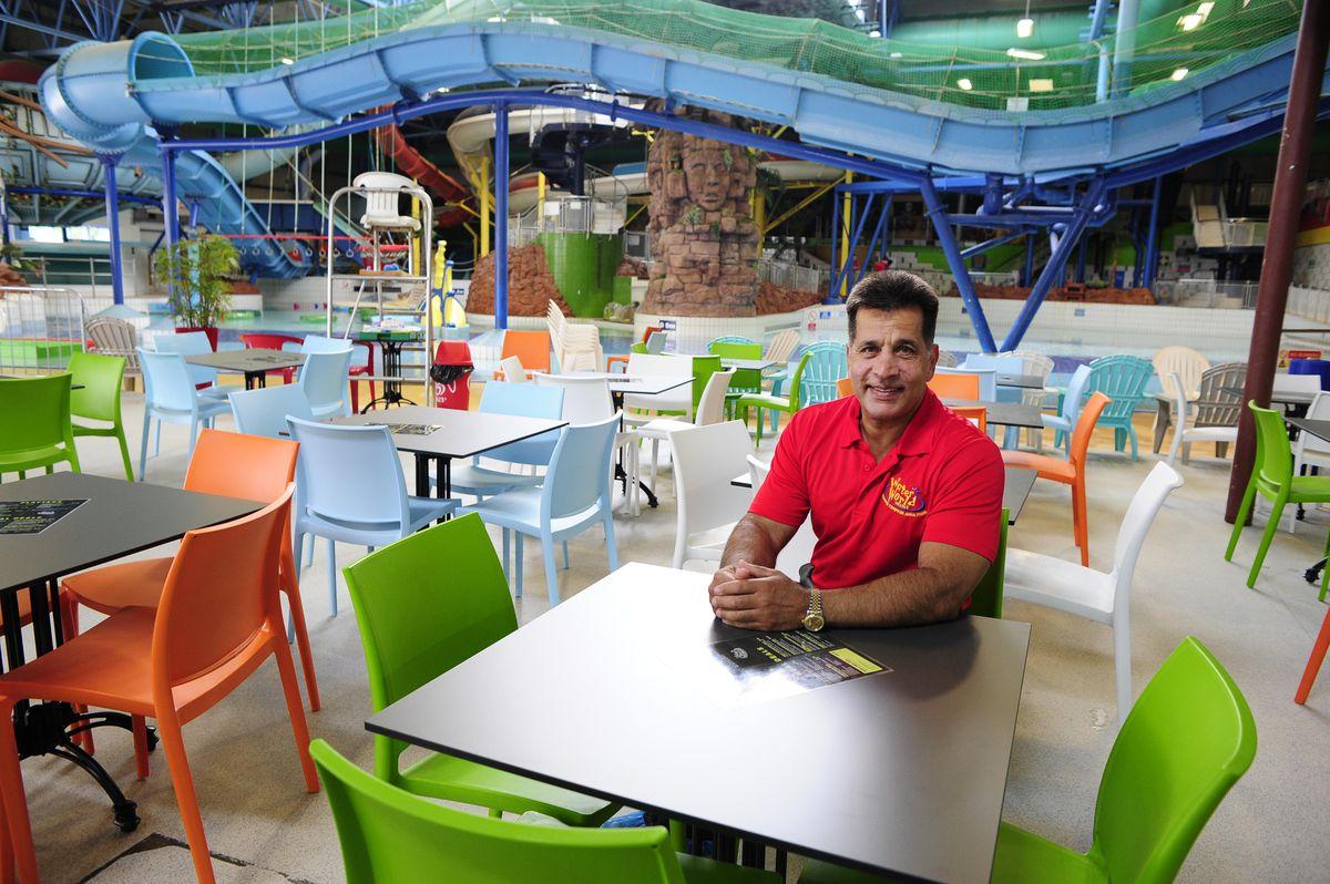 Mo Chaudry at Waterworld