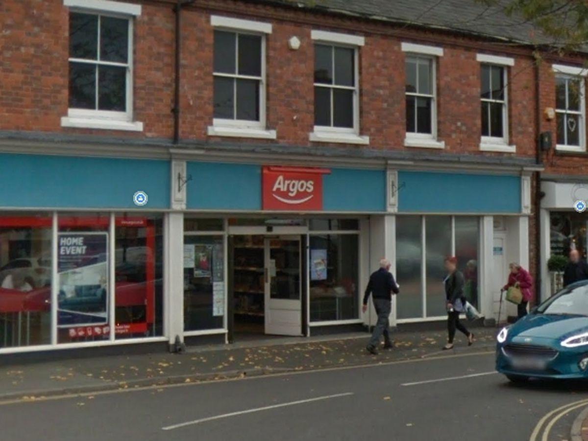Argos in Oswestry. Photo: Google