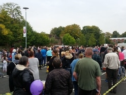 WATCH: Crowds queue for water in Telford as pipe repairs continue