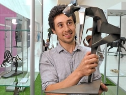 Wellington sculptor showcasing art at Telford Shopping Centre