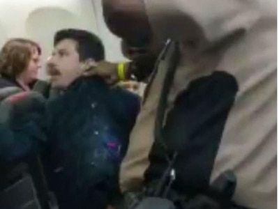 In Video: Plane passenger repeatedly Tasered by police