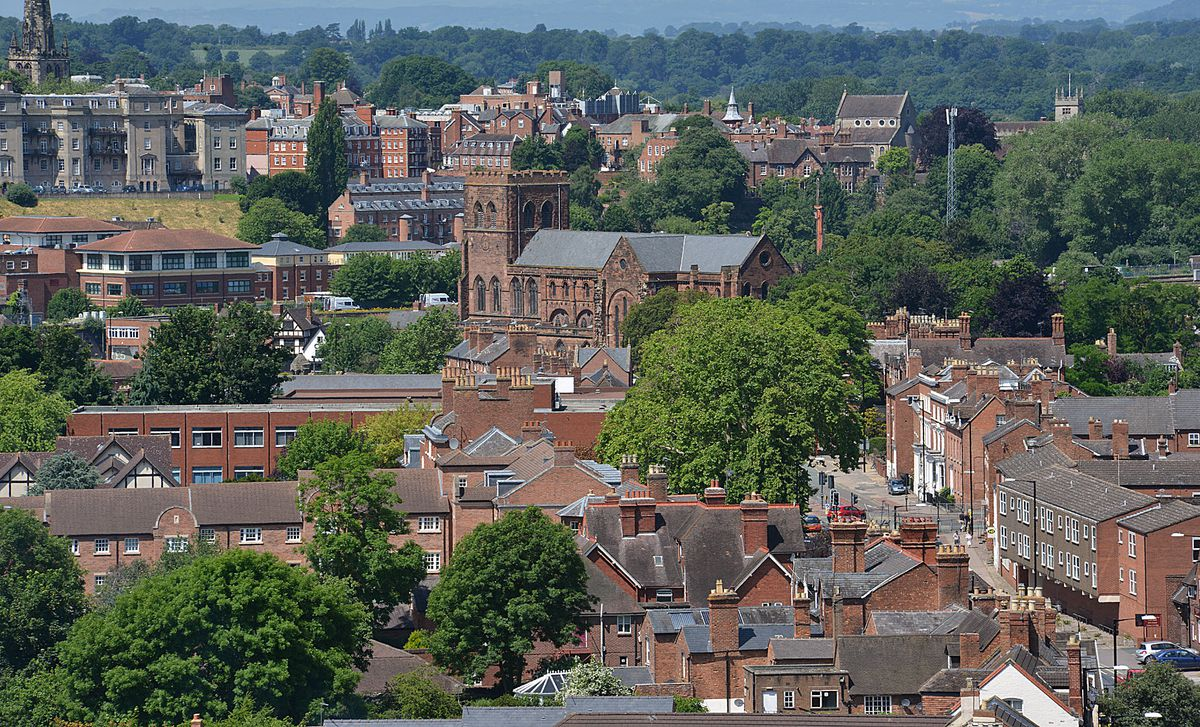 Shrewsbury Abbey. Pic: Mark Booth
