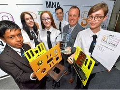 STEM students rise to the challenge