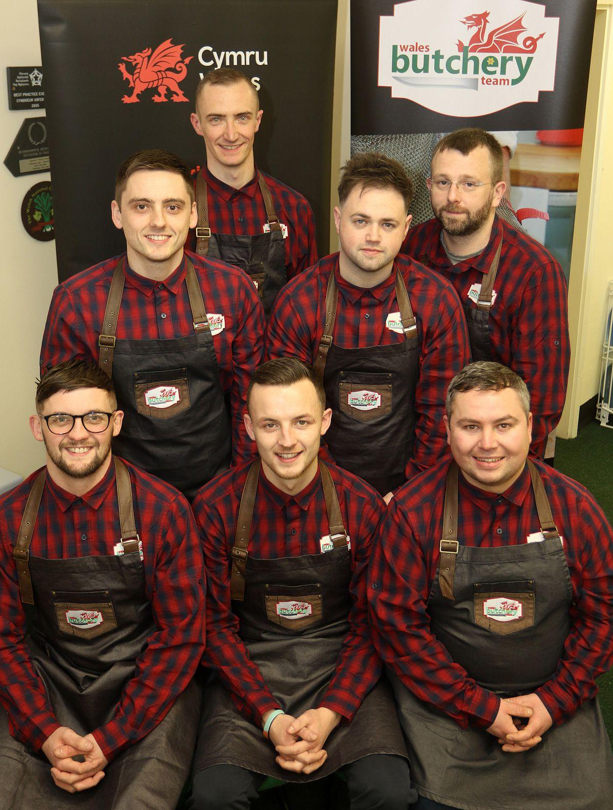 Wales Butchery Team