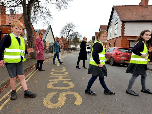 Cars are being banned from a road, near Coleham Primary School, in Shrewsbury, during drop-off and pick-up times
