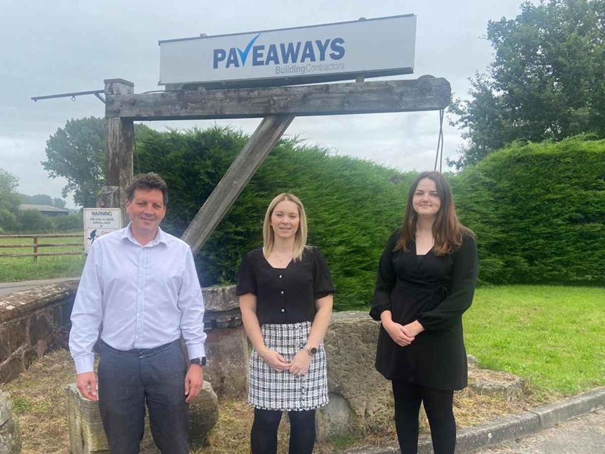 David Disney, Kelly Swannick and Corrie Ellis have all joined the Pave Aways team