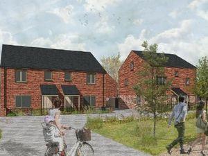 Bronllys Development - a graphic of how it could look from Asbri planning ltd