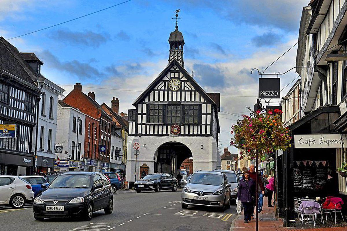 Bridgnorth town centre