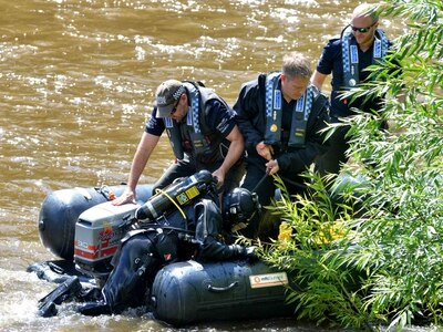 Human remains found as divers search River Severn for 'murdered' missing grandmother