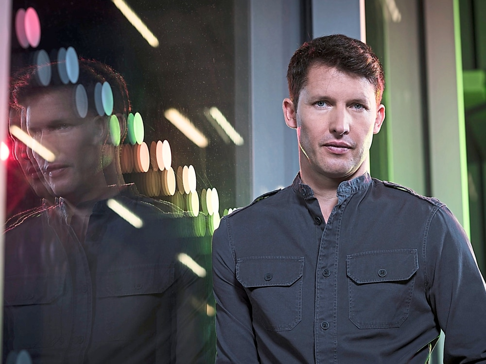 James Blunt talks ahead of Birmingham show
