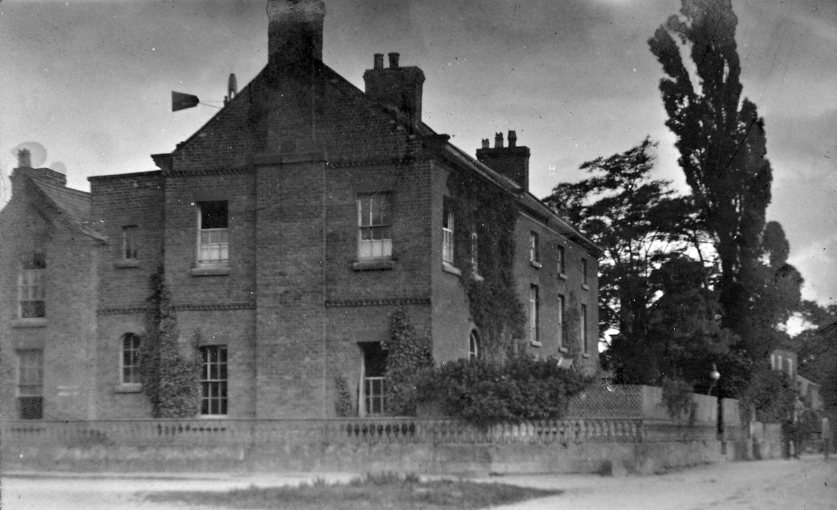 The convalescent home at Florence House, Baschurch, in its early days.
