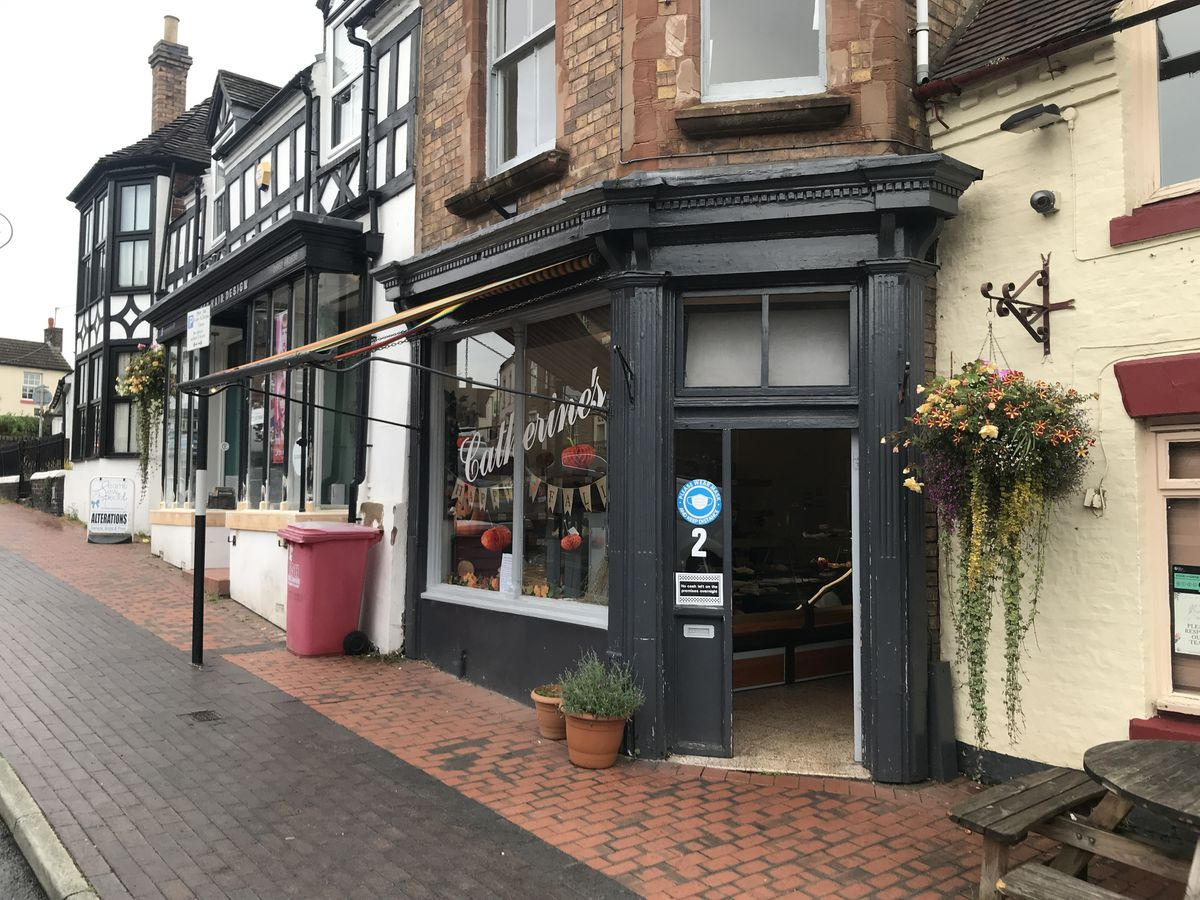 Catherine's in Broseley and Much Wenlock have both closed after 20 years