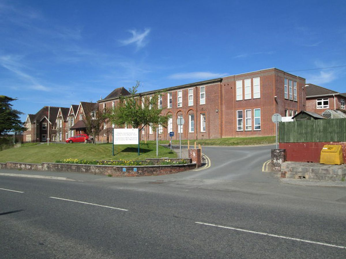 Llandrindod Wells County War Memorial Hospital - available to use under creative commons licence - by Betty Longbottom.