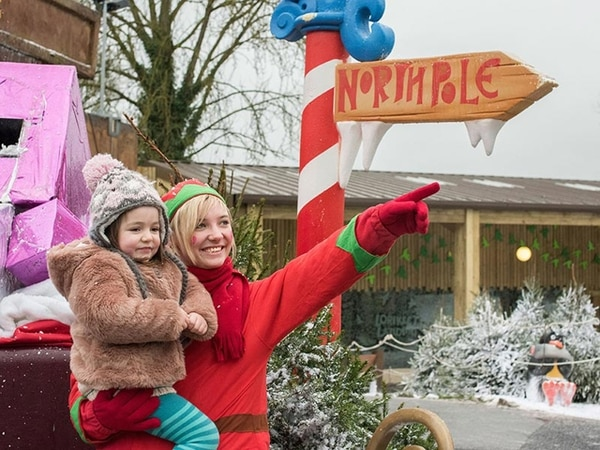 Christmas comes early to West Midland Safari Park with Santa Safari - review with pictures