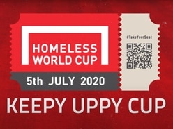 Homeless World Cup stages keepy uppy tournament after annual event cancelled