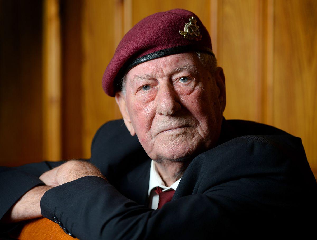 Arnhem veteran Tom Brewin