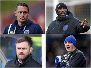 Who are the favourites to take over at Town? (Photos: AMA/PA)
