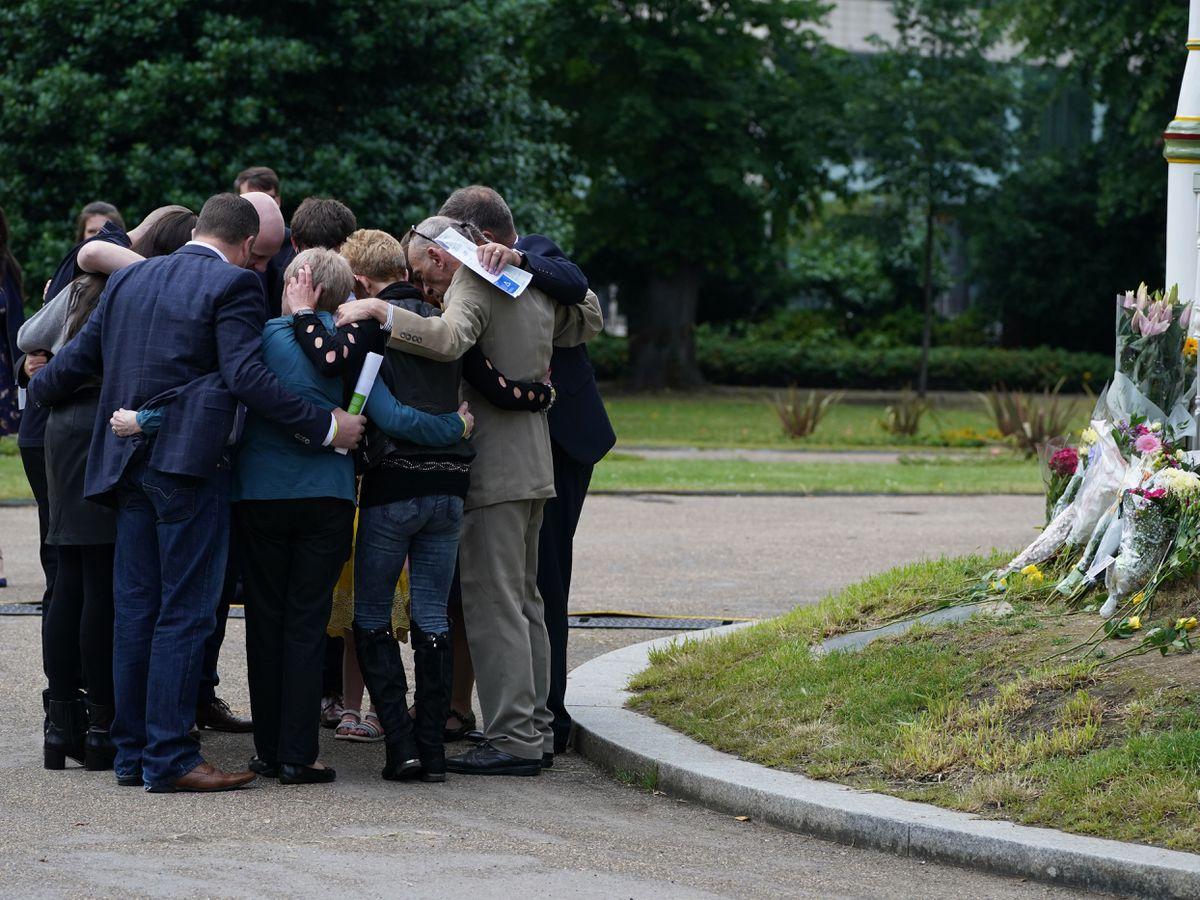 Forbury Gardens memorial service