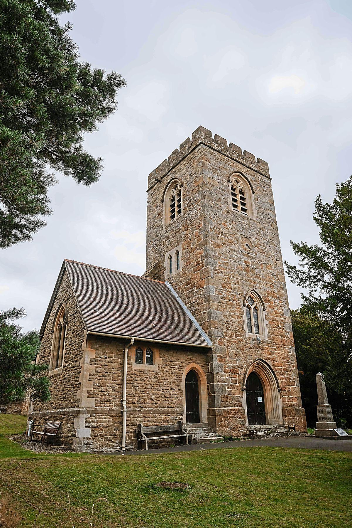 St Paul's Church in Knowbury
