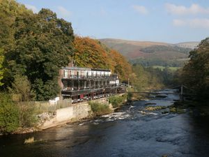 The Chain Bridge Hotel near Llangollen has shut until the spring