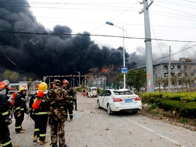 Death toll in China chemical plant explosion rises to 44