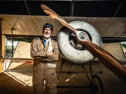 Family air-loom: How Ludlow man rebuilt (and flew) his grandfather's biplane