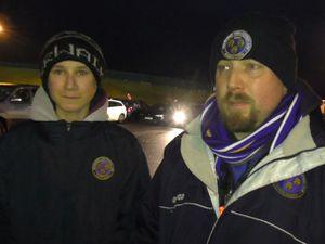 Town fans spoke with Luke Hatfield.