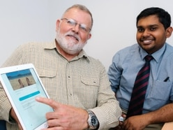Veteran patients at Shropshire hospital can tap in to new mobile phone app