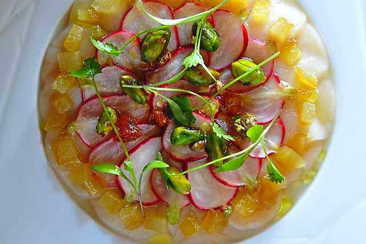 Good to sea food – scallop ceviche