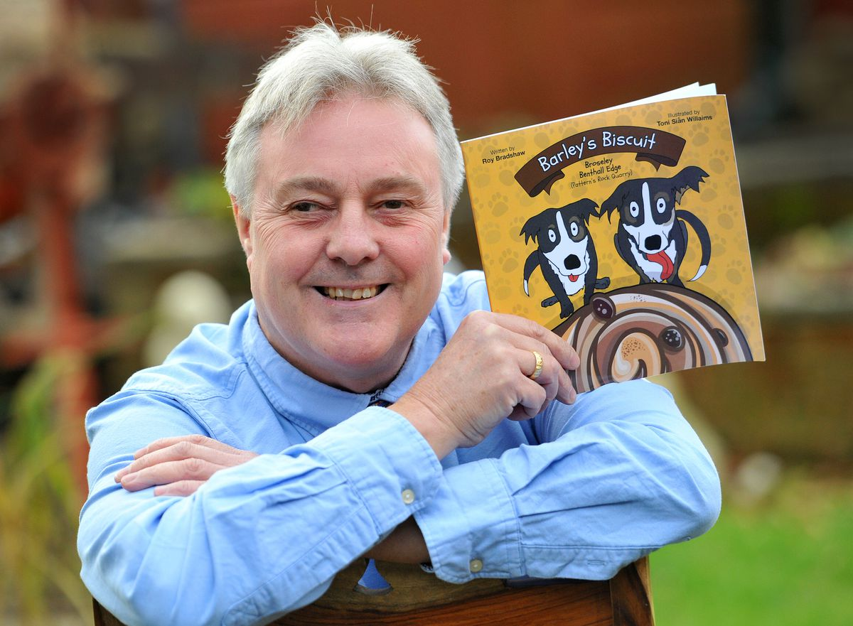Roy Bradshaw, from Telford, has penned a children's book called Barley's Biscuit