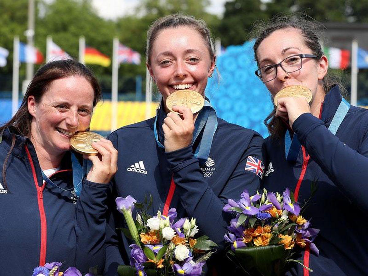 Great Britain's women's archery team claimed gold in Minsk