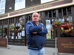 Robert Teckoe said he was refused entry into The William Withering pub in Wellington as he was unable to fill out the Track & Trace entry form