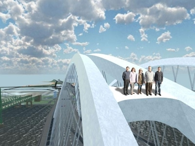 Virtual reality allows drive over Mississippi bridge three years before it opens