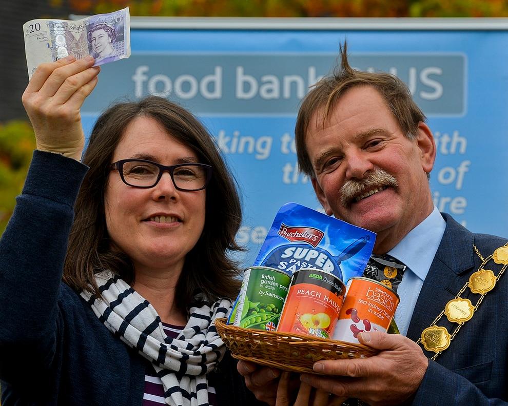 Karen Williams Food Bank Shrewsbury