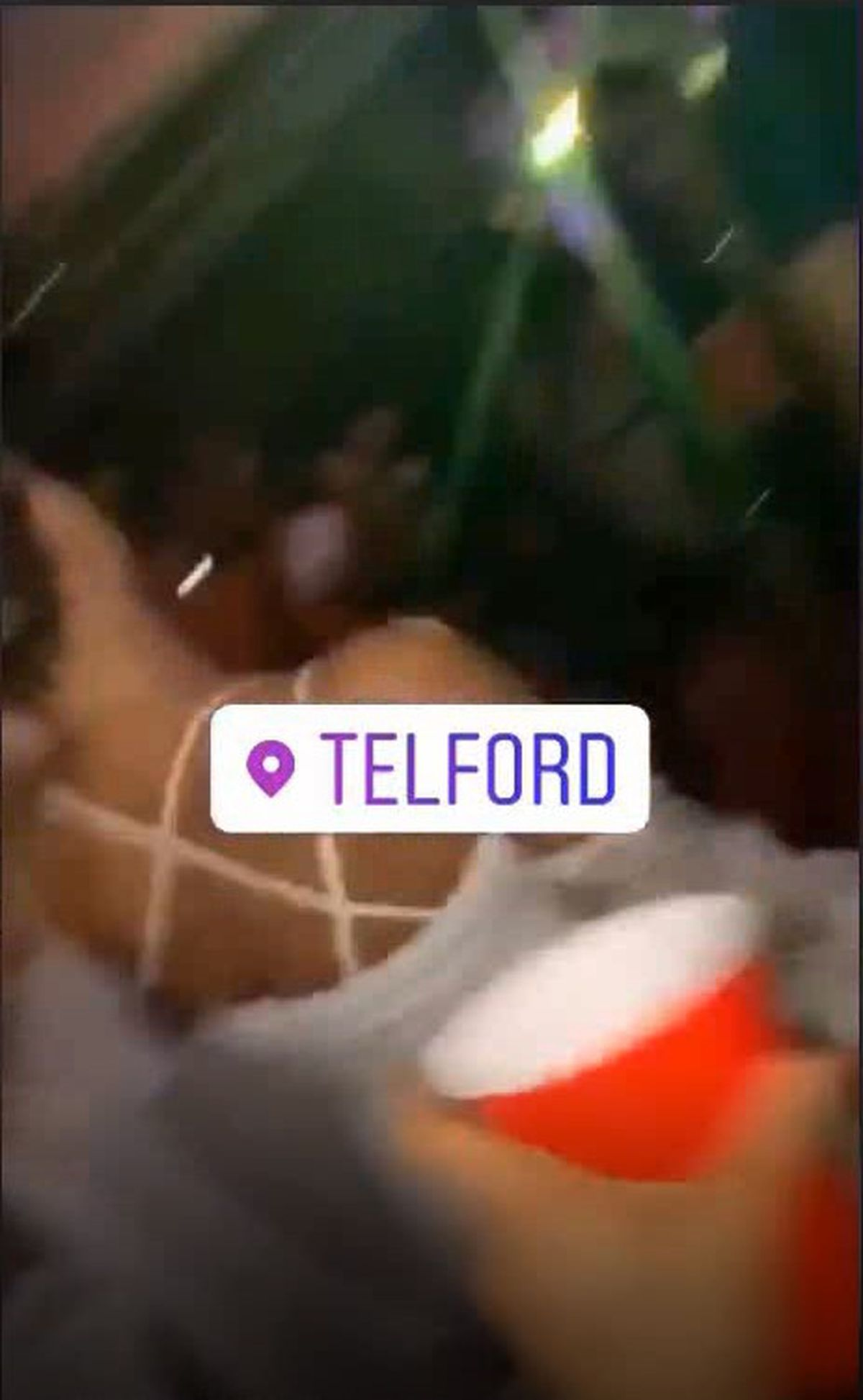 Some pictures tagged the location as 'Telford'